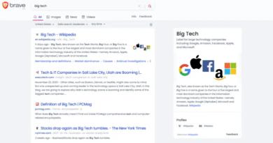 Przeglądarka Brave rezygnuje z Google jako domyślnej wyszukiwarki